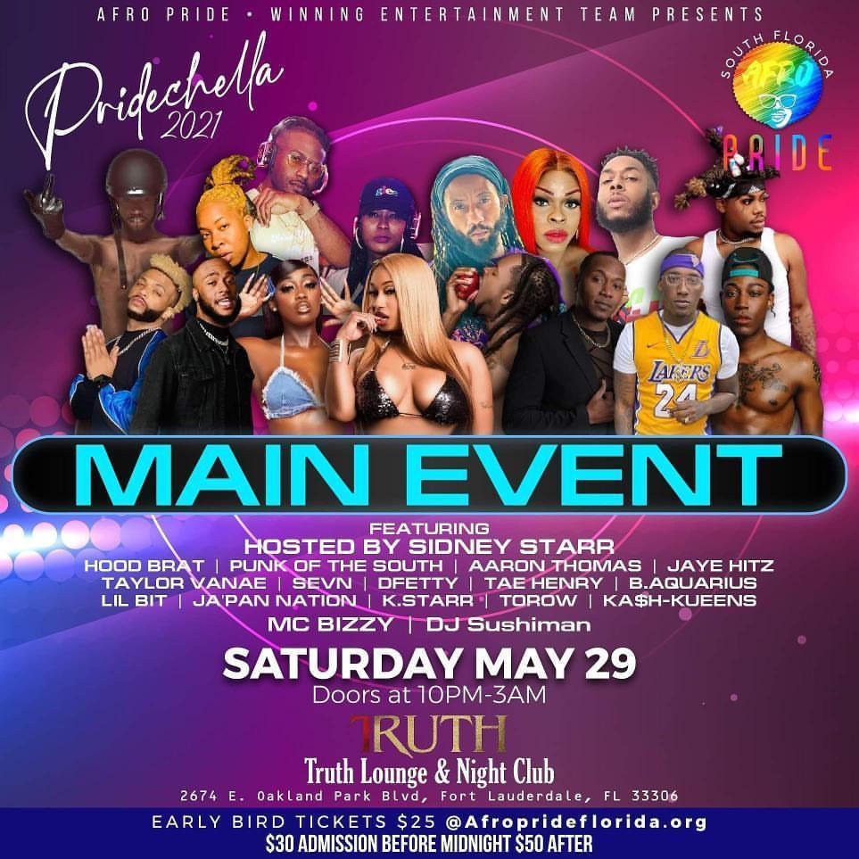 Pridechella 2021 Main Event