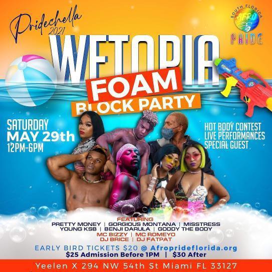 Wetopia Foam Block Party