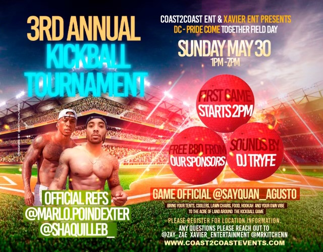 3rd Annual Kickball Tournament