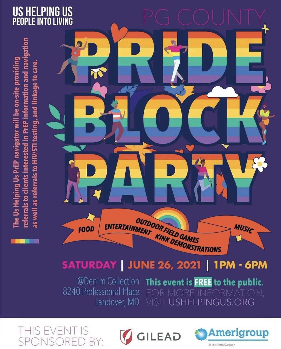 PG County Pride Block Party
