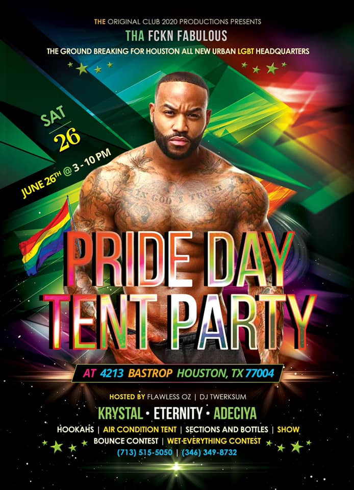 Pride Day Tent Party