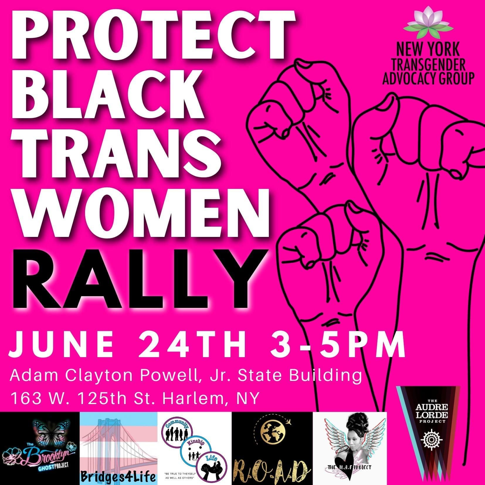 Protect Trans Women Rally