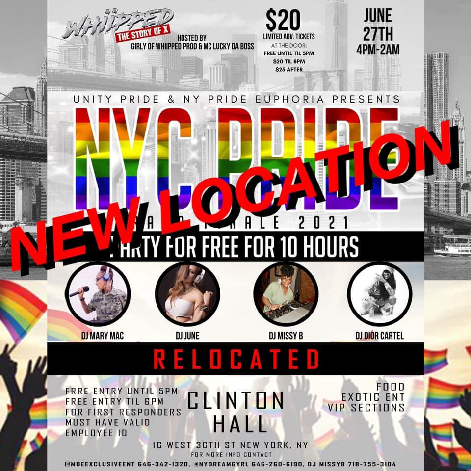 NYC Pride Grand Finale 2021
