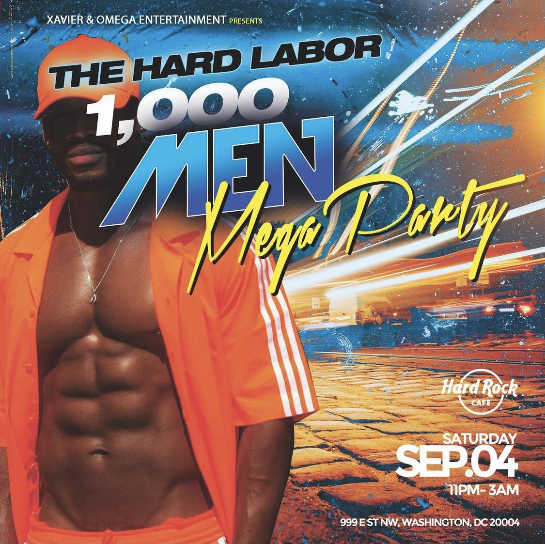1000 Men Mega Party: The Hard Labor