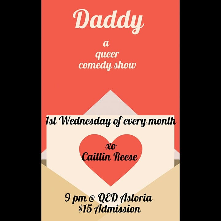 Daddy – A Queer Comedy Show