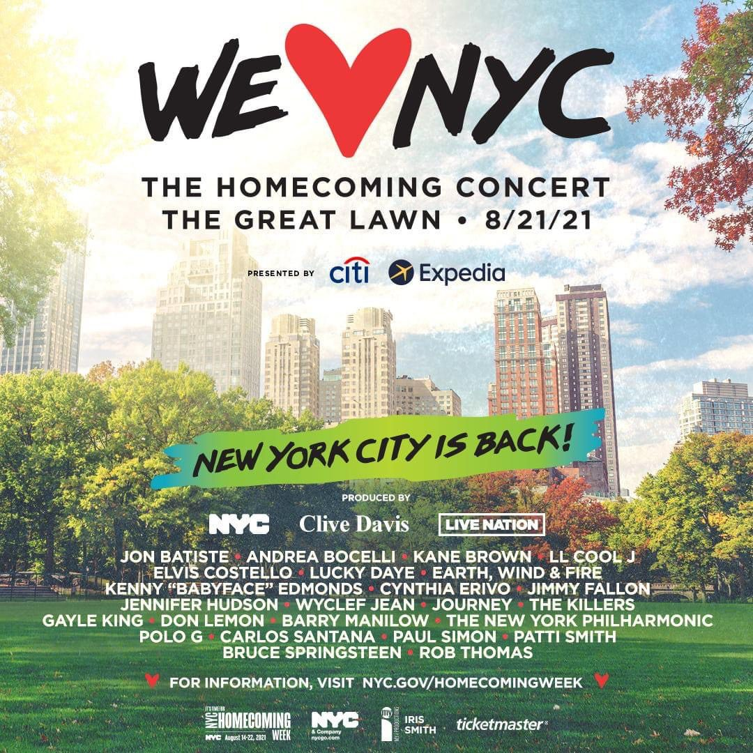 We ♥️ NYC: The Homecoming Concert