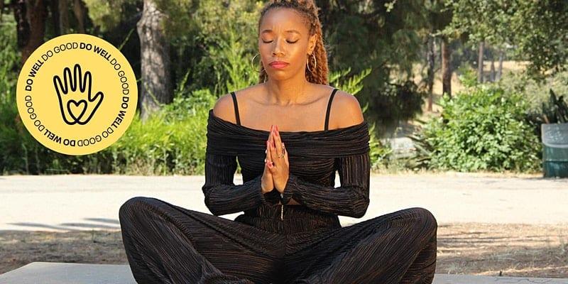 Full Body Vinyasa with Black Velveteen Yoga