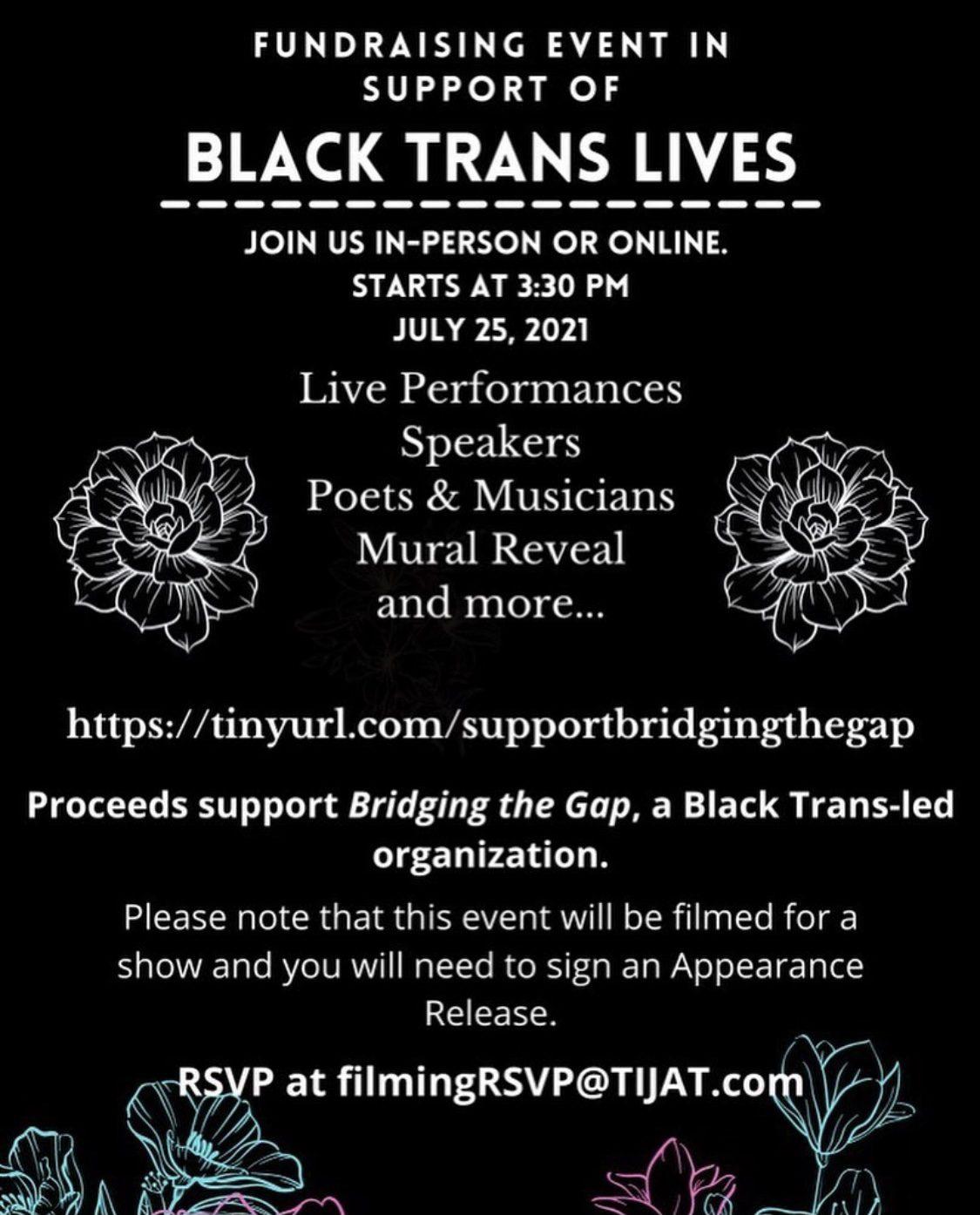 Black Trans Lives Fundraiser