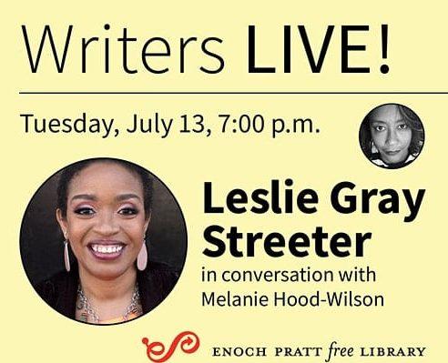 Writers LIVE! Leslie Gray Streeter, Black Widow