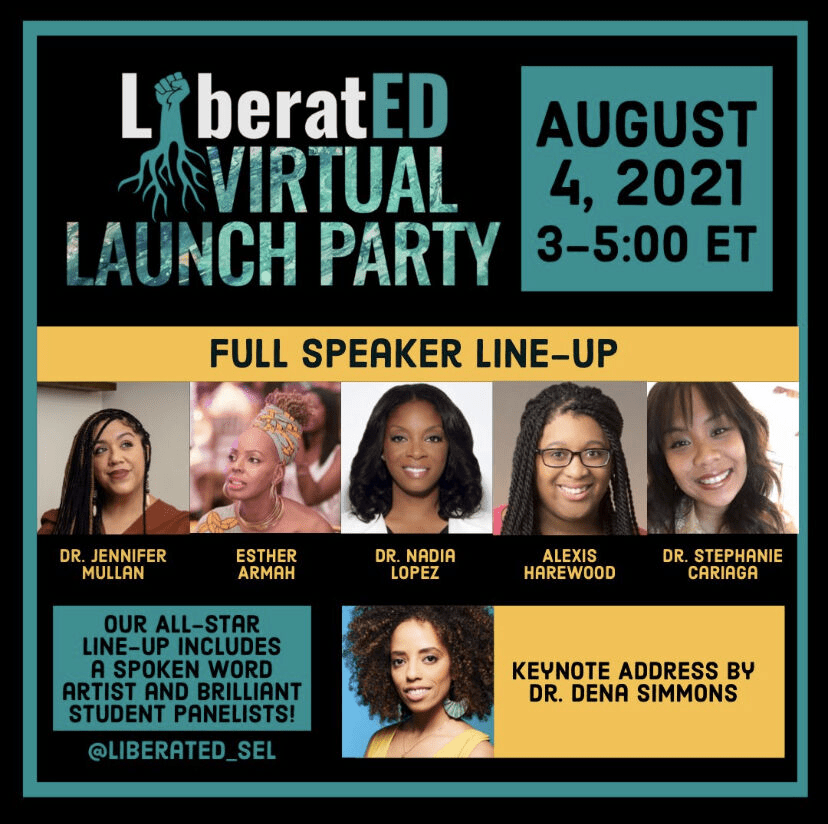 LiberatED Virtual Launch Party