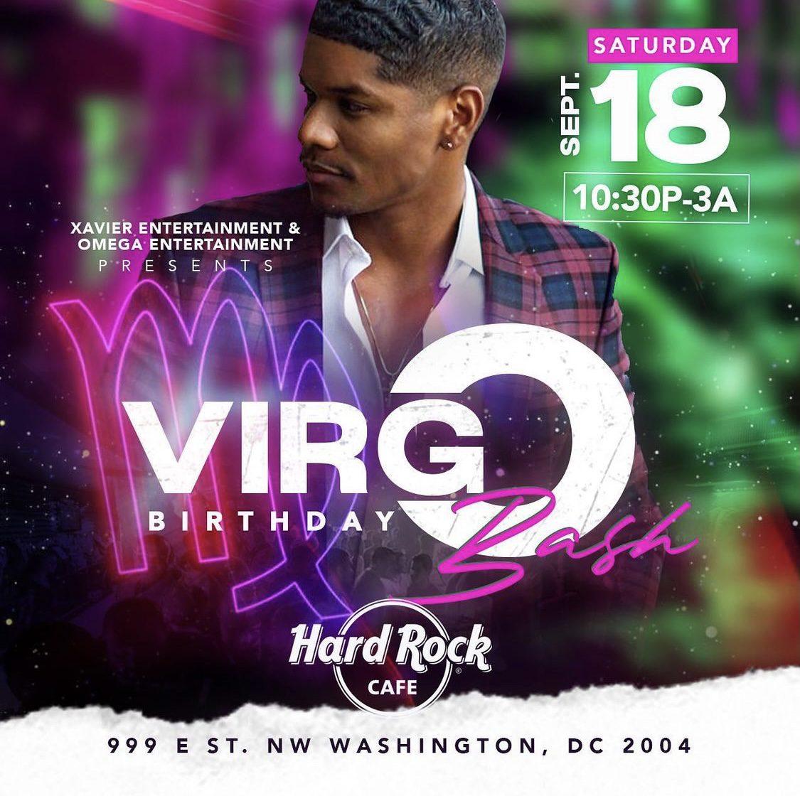 500 Men Virgo Birthday Bash