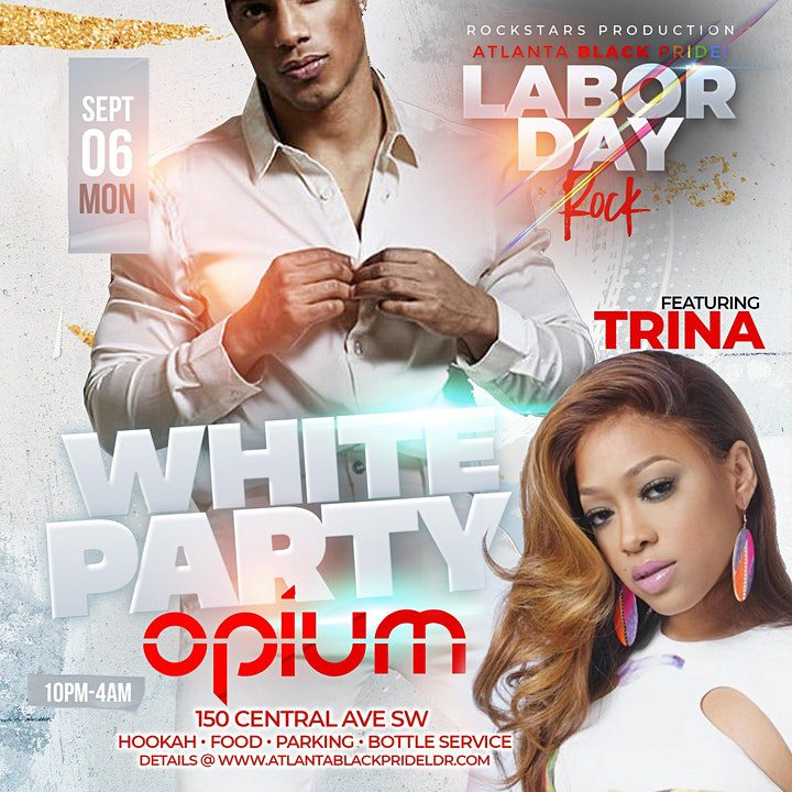 Opium All White Party
