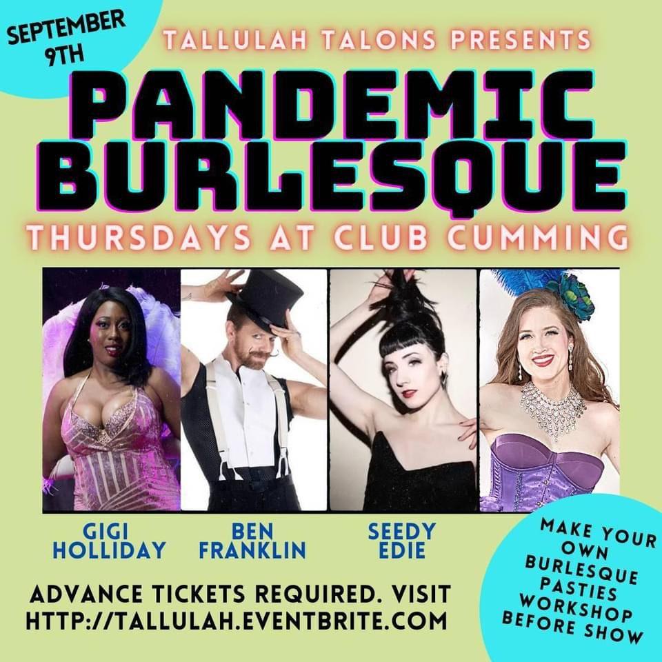 Pandemic Burlesque