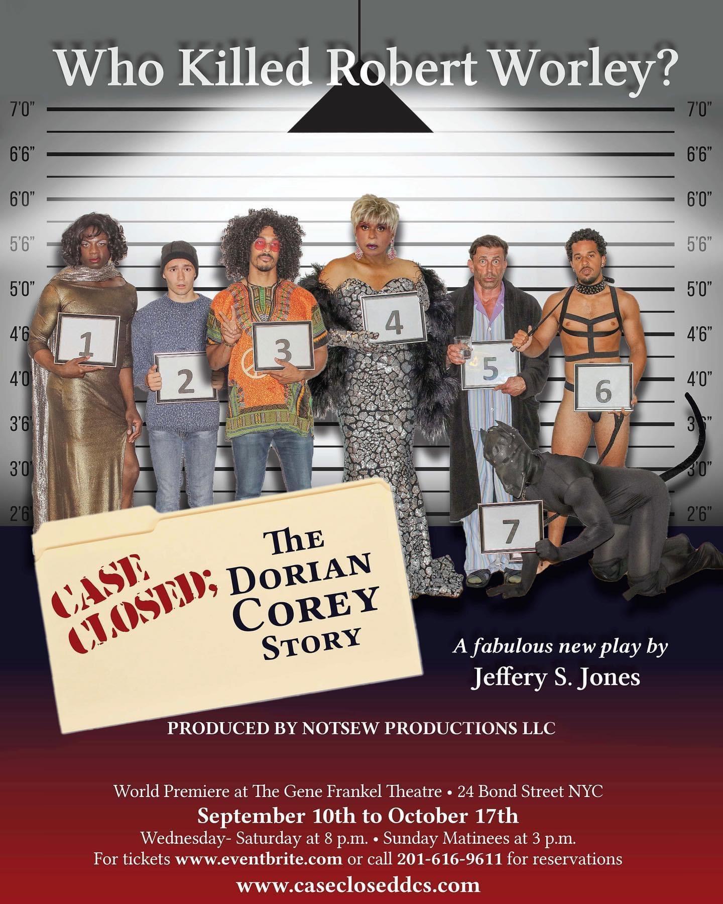 Case Closed: The Dorian Corey Story