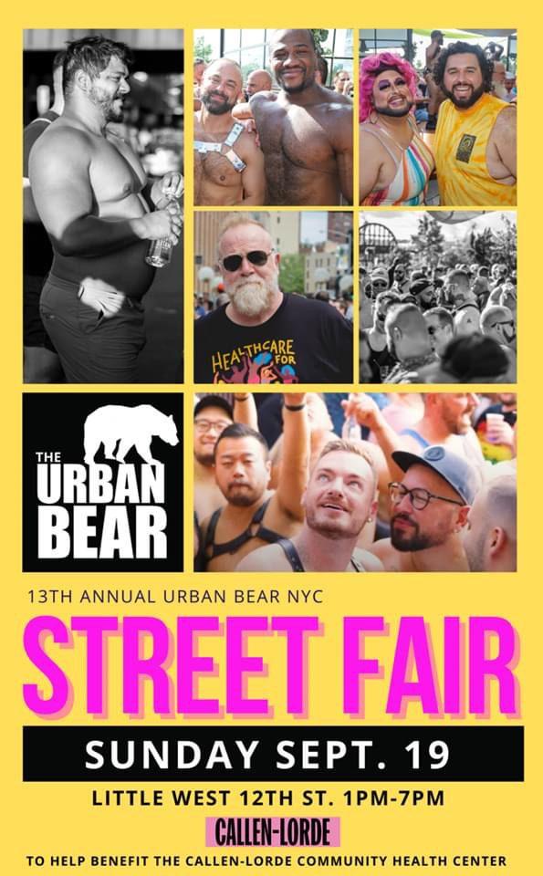 13th Annual Urban Bear Street Fair