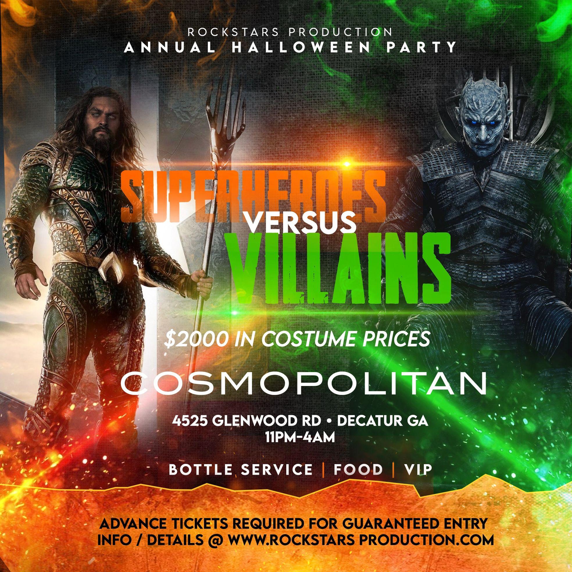 Superheroes vs Villains