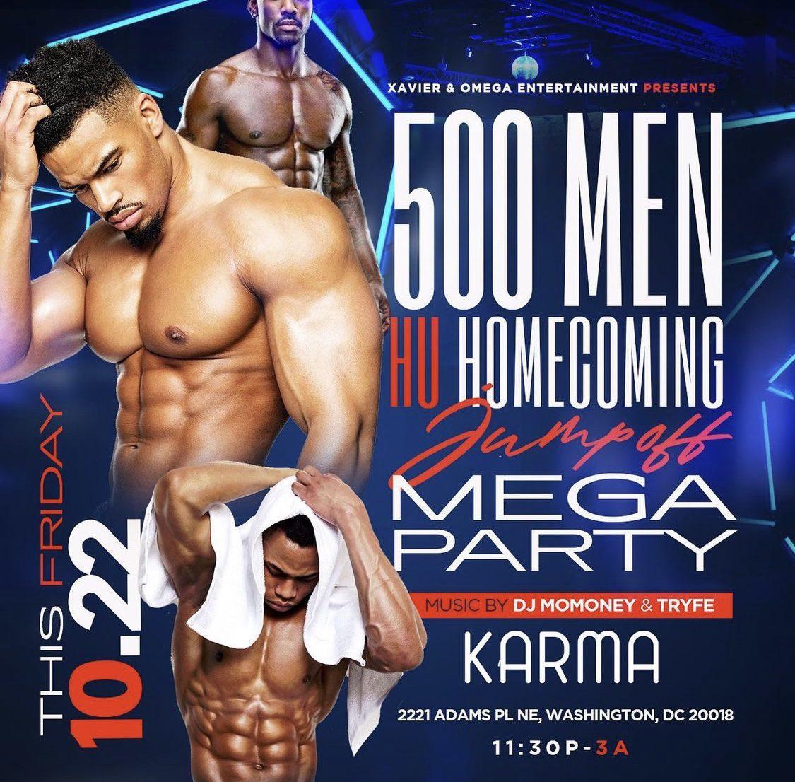 HU Homecoming Jump Off Mega Party