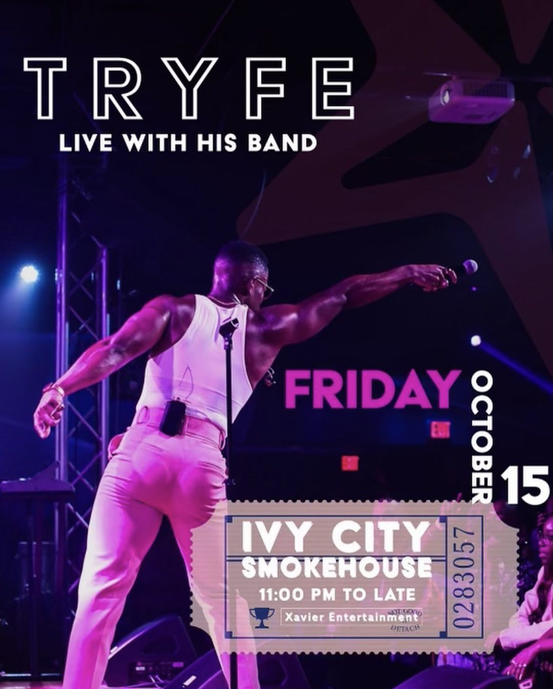 TRYFE Live with His Band