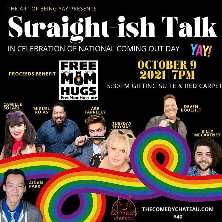 Straight-ish Talk Comedy Fundraiser