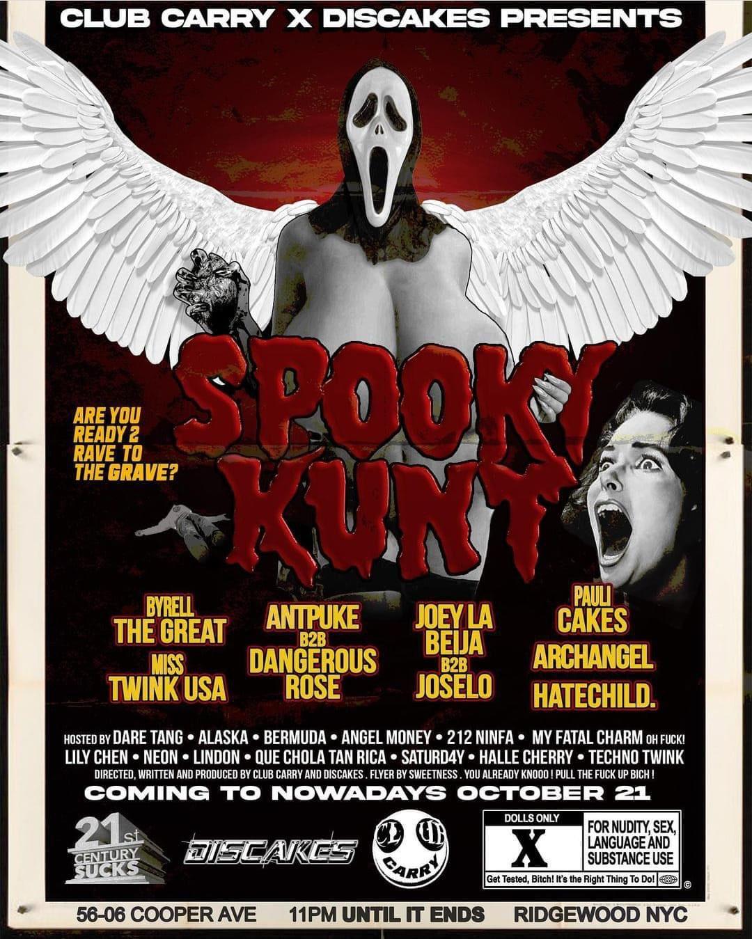 Spooky Kunt Movie