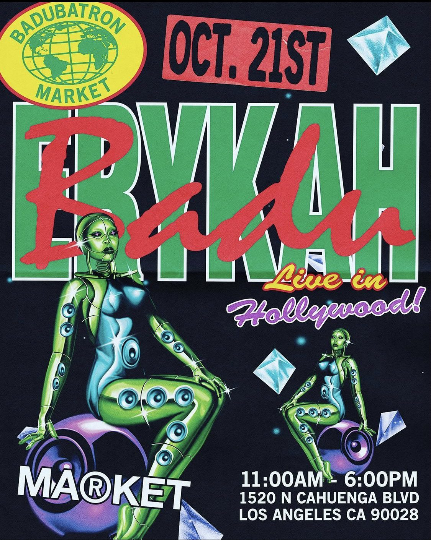 Erykah Badu Live in Hollywood