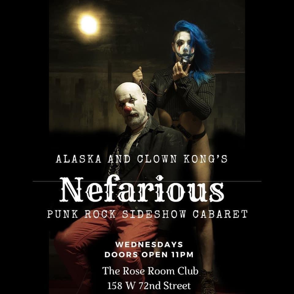 Nefarious: Punk Rock Sideshow Cabaret